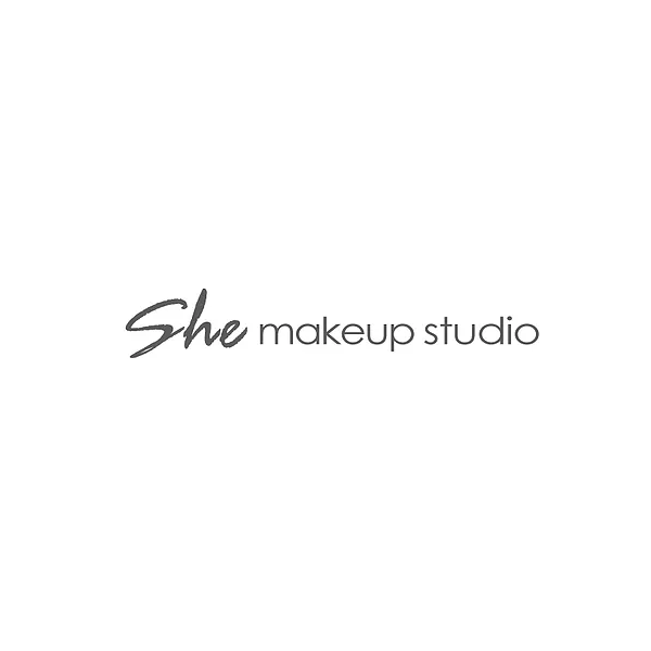she makeup studio logo