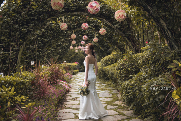 Beautiful bride photography in HK