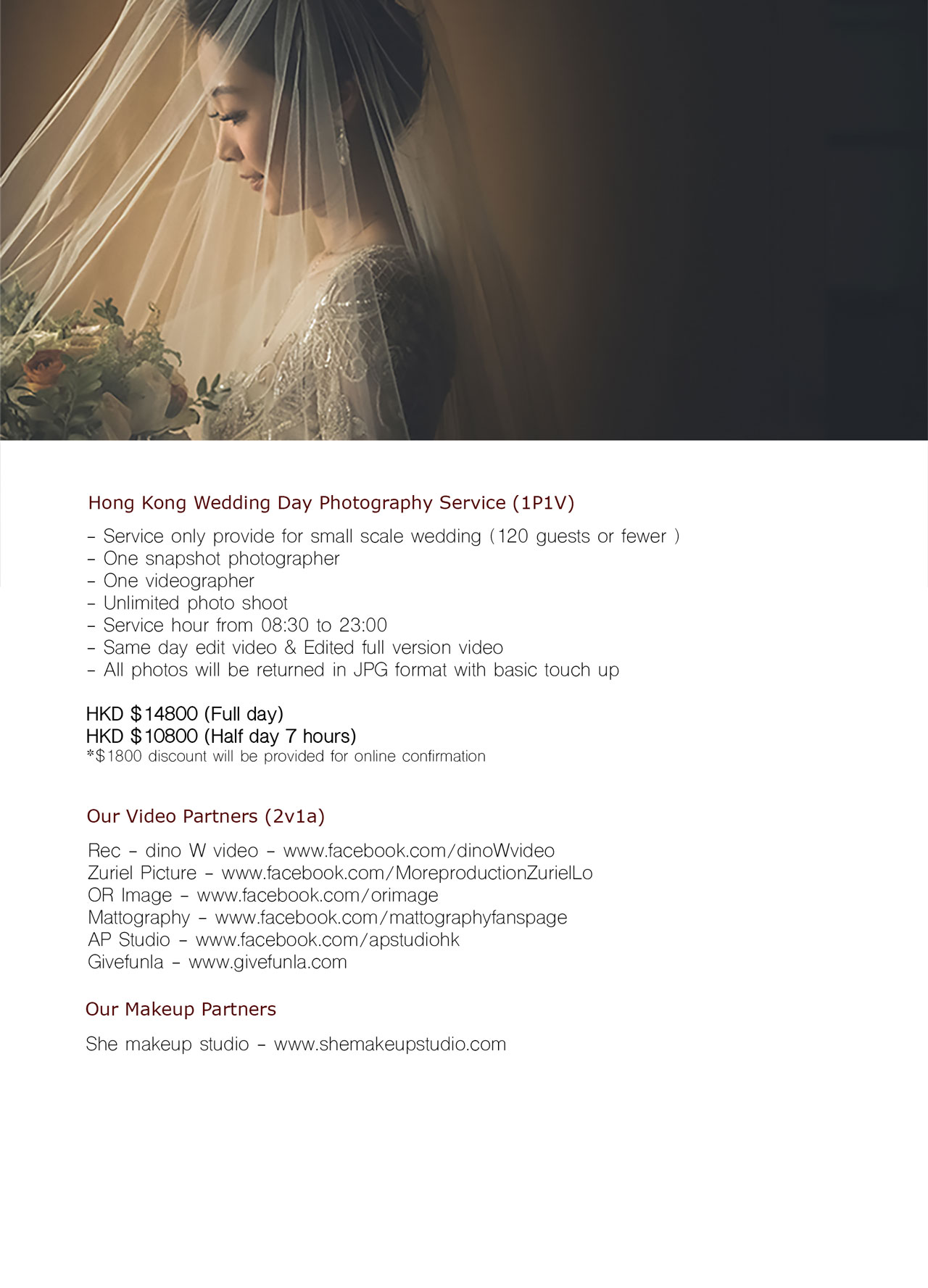 wedding day rates 2